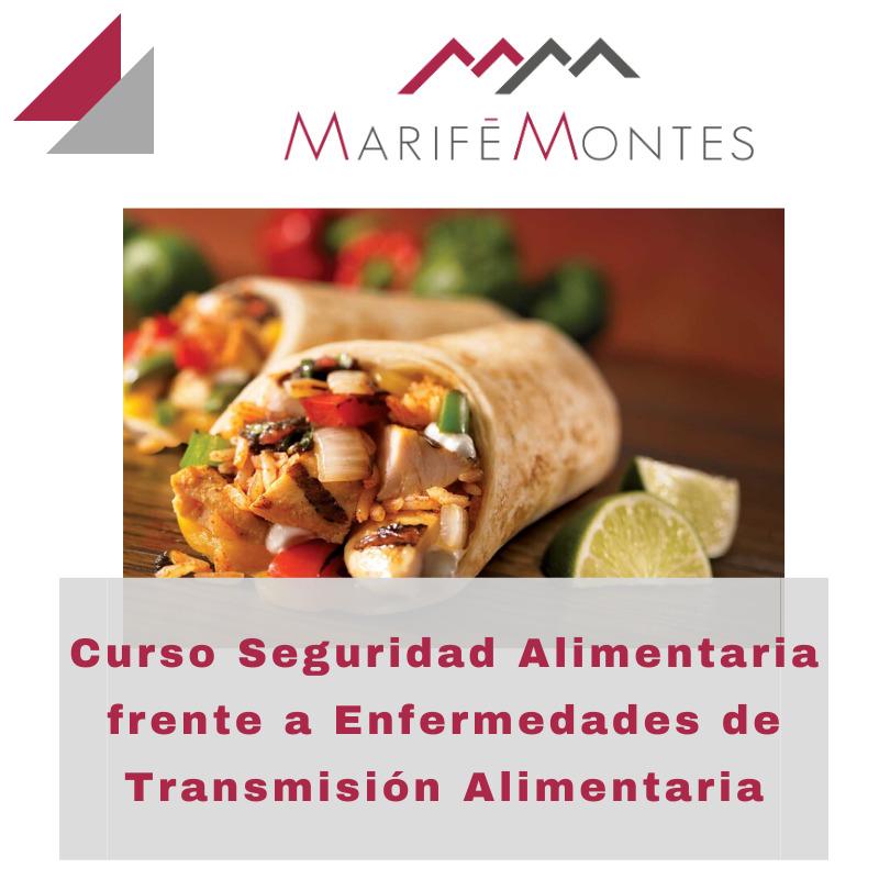Curso Seguridad Alimentaria frente a Enfermedades de Transmisión Alimentaria